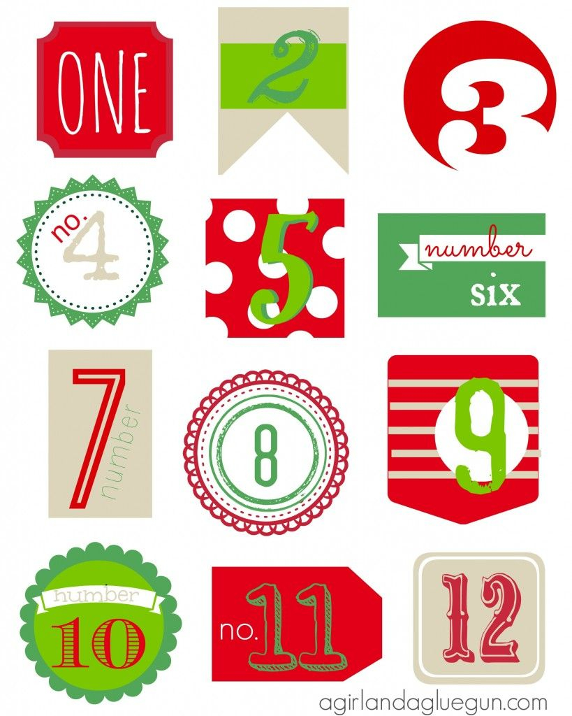 12 Days Of Christmas Free Printable (With Images) | Free With Regard To 12 Days Of Christmas Calendar