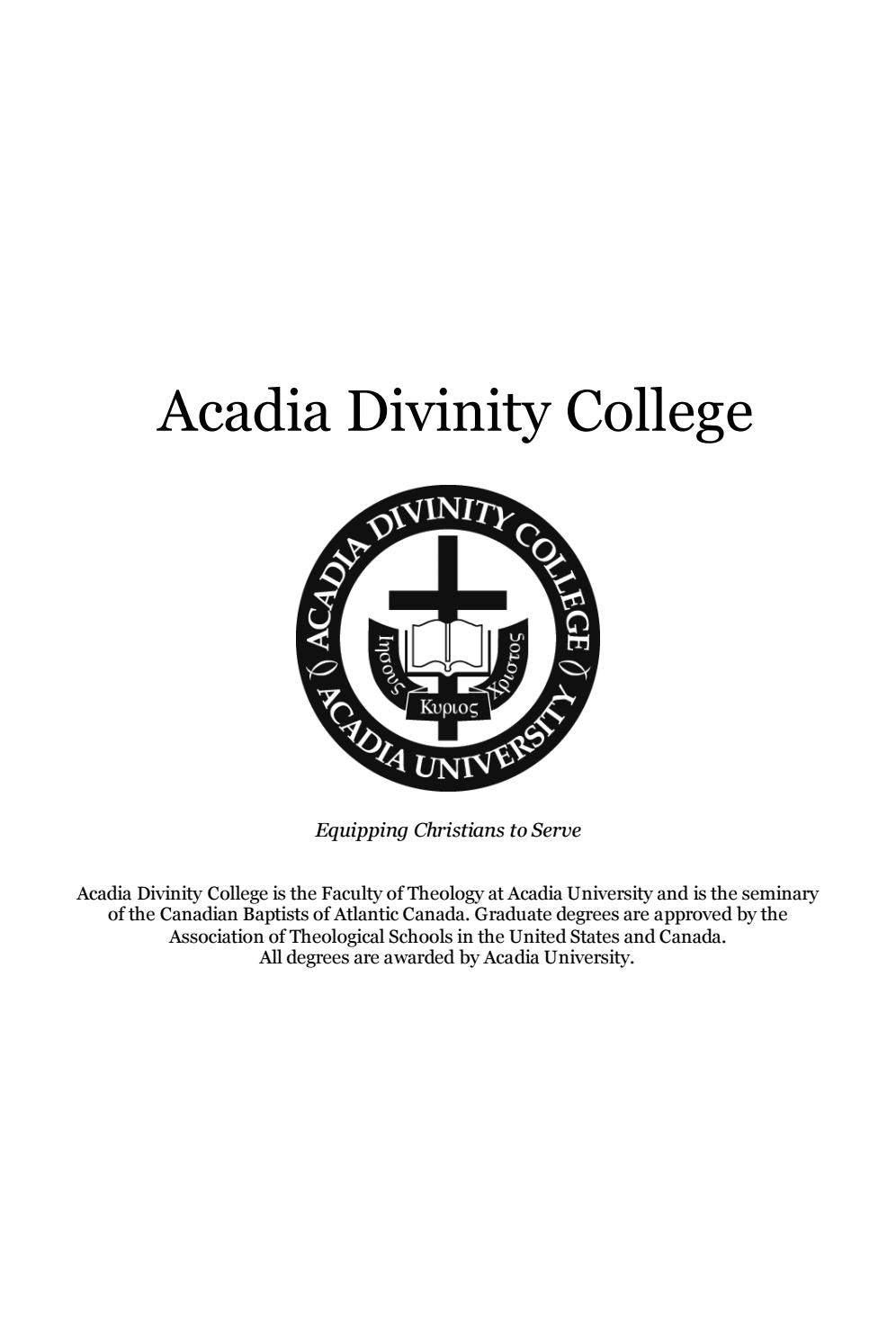 2019 2020 Acadia Divinity College Academic Calendar For Case Western Reserve University Academic Calendar