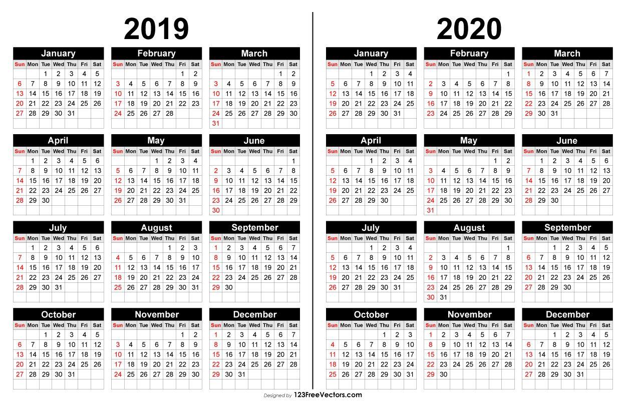 2019 And 2020 Calendar Printable | Calendar Printables, 2021 Intended For Fall Tv Line Up 2021 2020 Printable