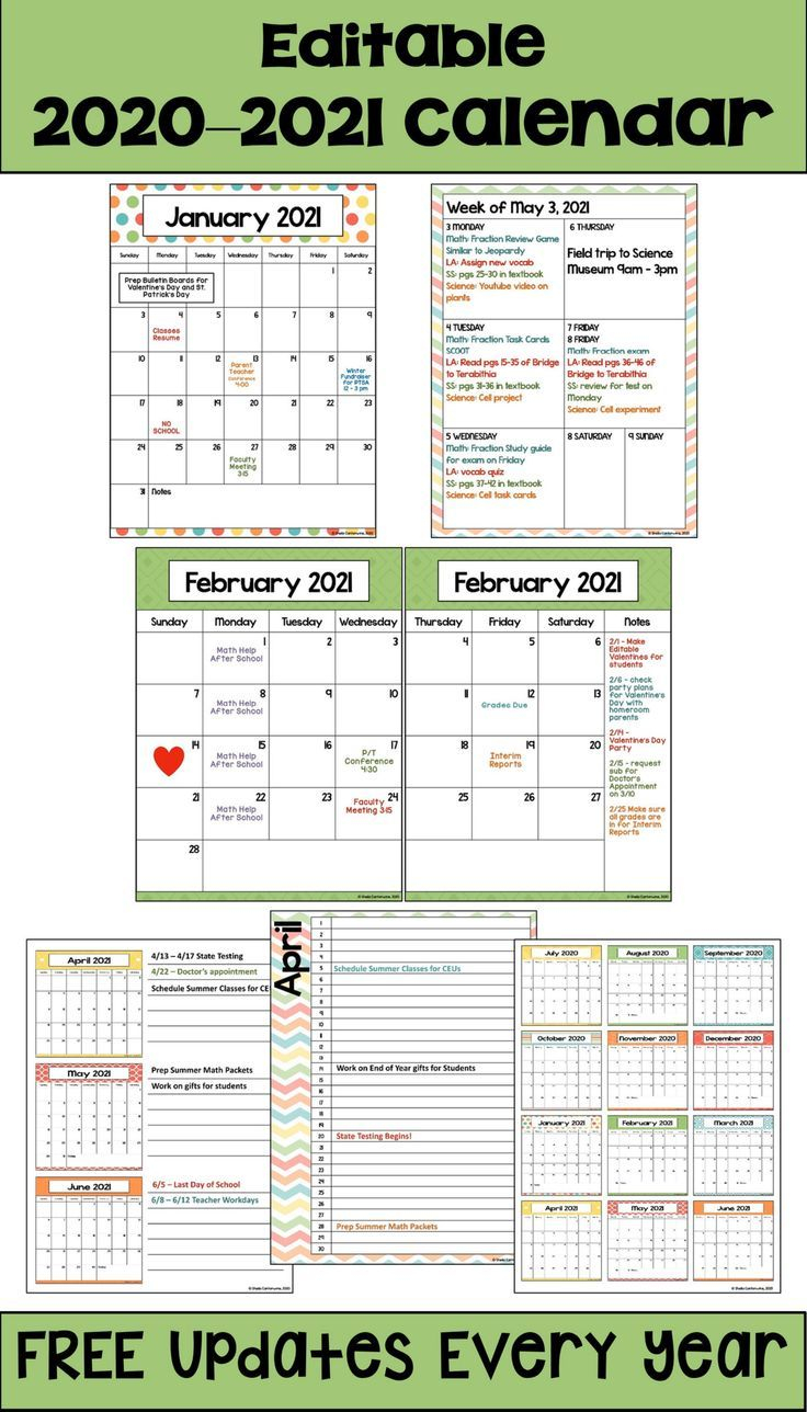 2020 2021 Calendar Printable And Editable With Free Updates Intended For Slim And 6 Workout Plan Calender Edit
