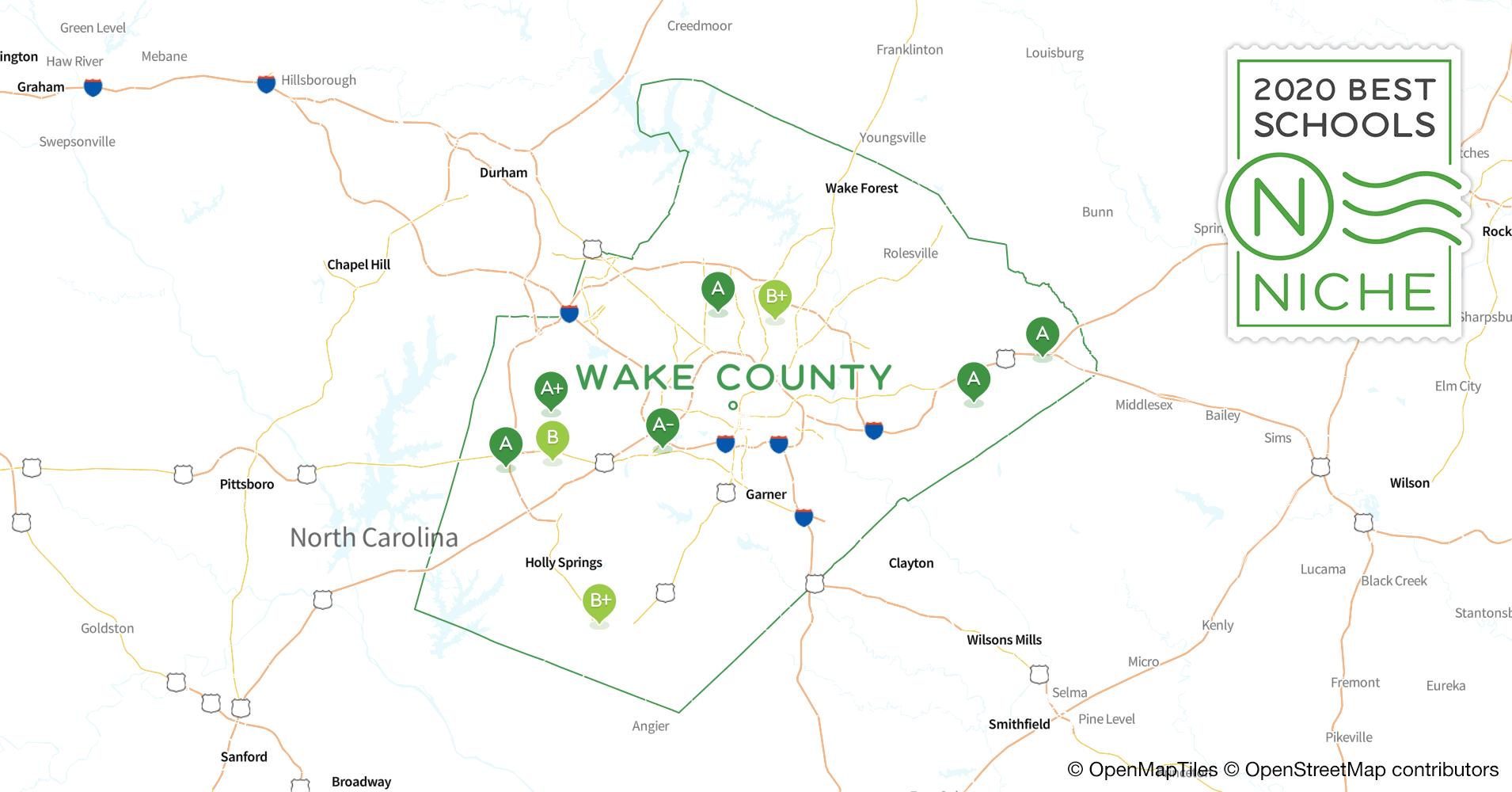 2020 Best Public Elementary Schools In Wake County, Nc - Niche Regarding List Of Year Round School In Wake County