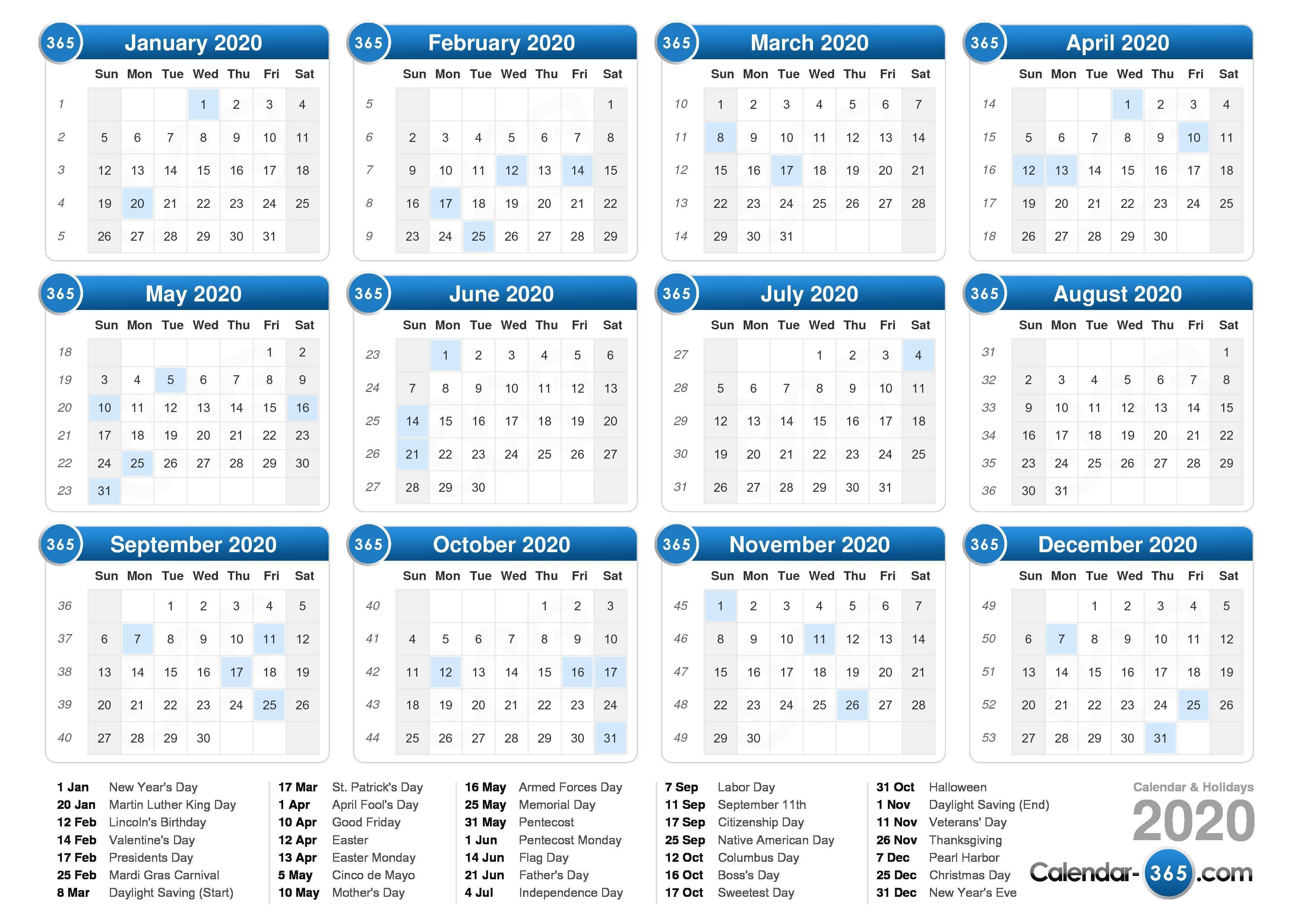 2020 Calendar Throughout Show Me My Calendar For Tomorrow