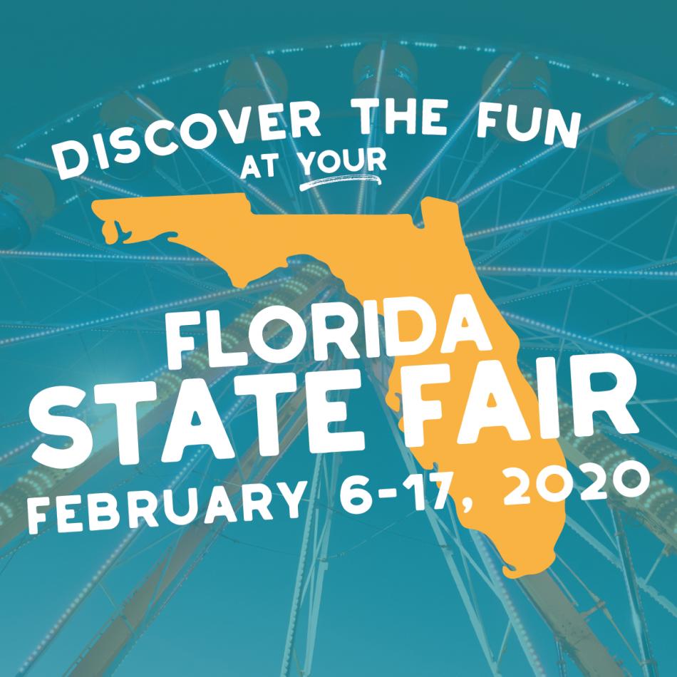 2020 Florida State Fair!, Tampa Fl - Feb 6, 2020 - 10:00 Am In Florida State Fairgrounds Events Calendar