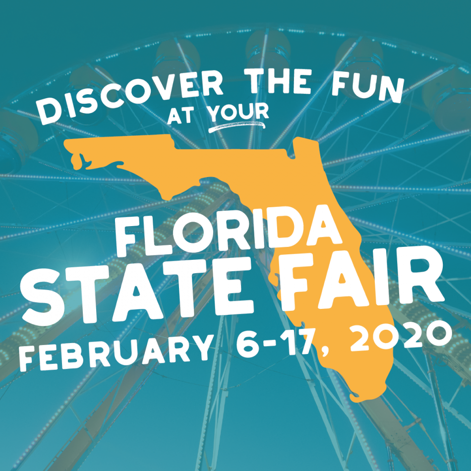 2020 Florida State Fair!, Tampa Fl - Feb 6, 2020 - 10:00 Am Inside Schedule Of Events For Monday At Florida State Fairgrounds