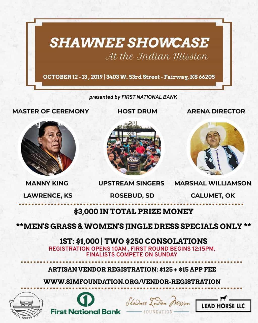 33Rd Annual Shawnee Indian Mission Fall Festival (2019 With Men On A Mission Calendar