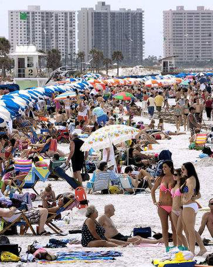 4 Tampa Bay Counties Have Spring Break At Once. Here's How With Palm Beach County Spring Break 2015