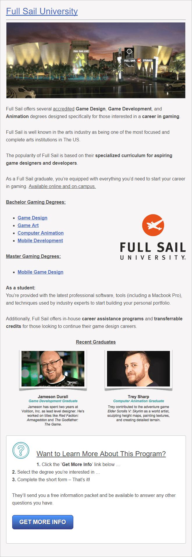 75 Best Video Game Design Schools (World Rankings) In Full Sail University Class Schedule