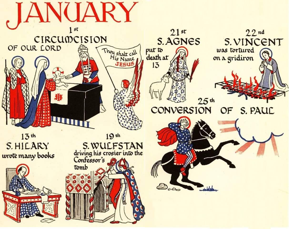 A Catholic Life: Catholic Feast Days intended for Roman Catholic Saint Days Calendar
