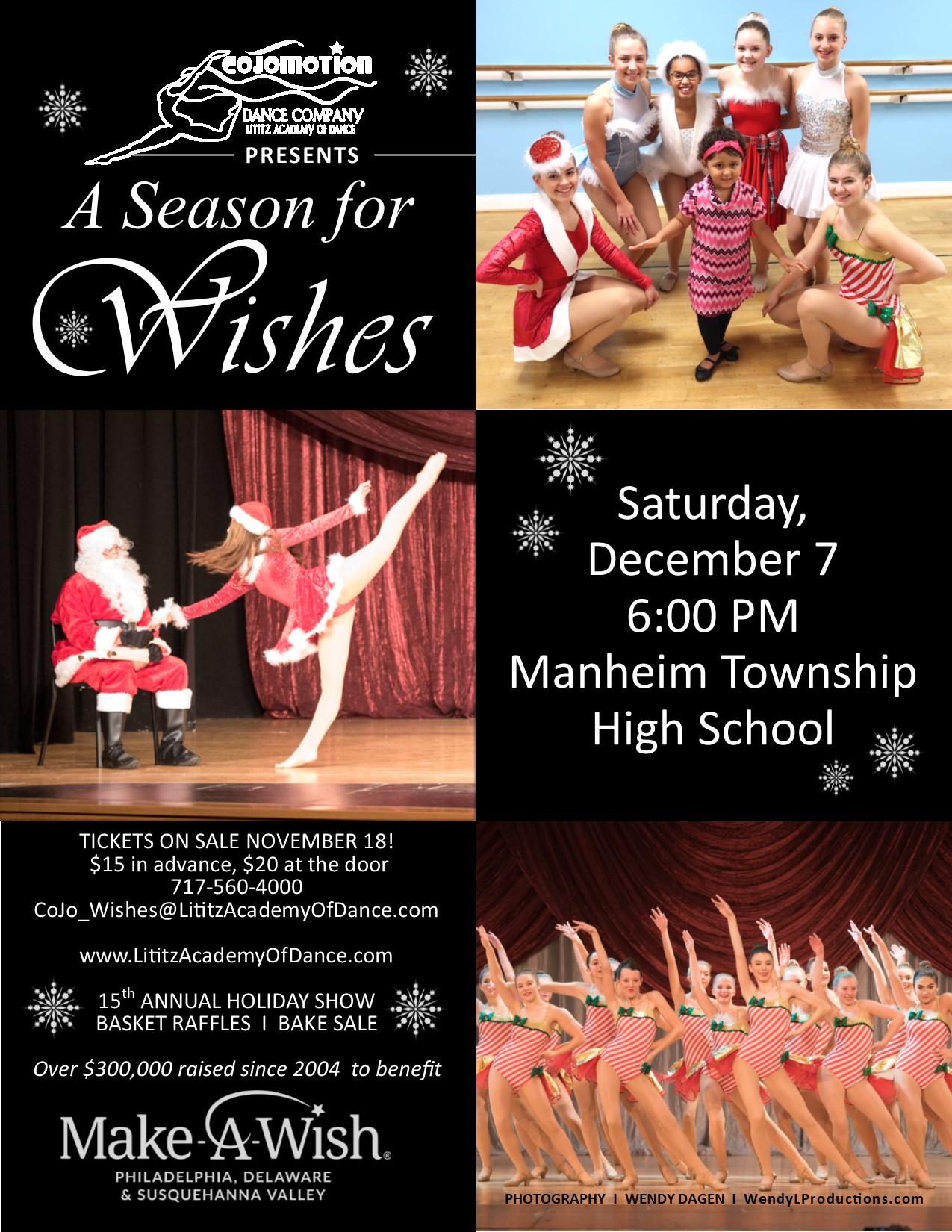 A Season For Wishesrsvpa Intended For Manheim Township School Calendar