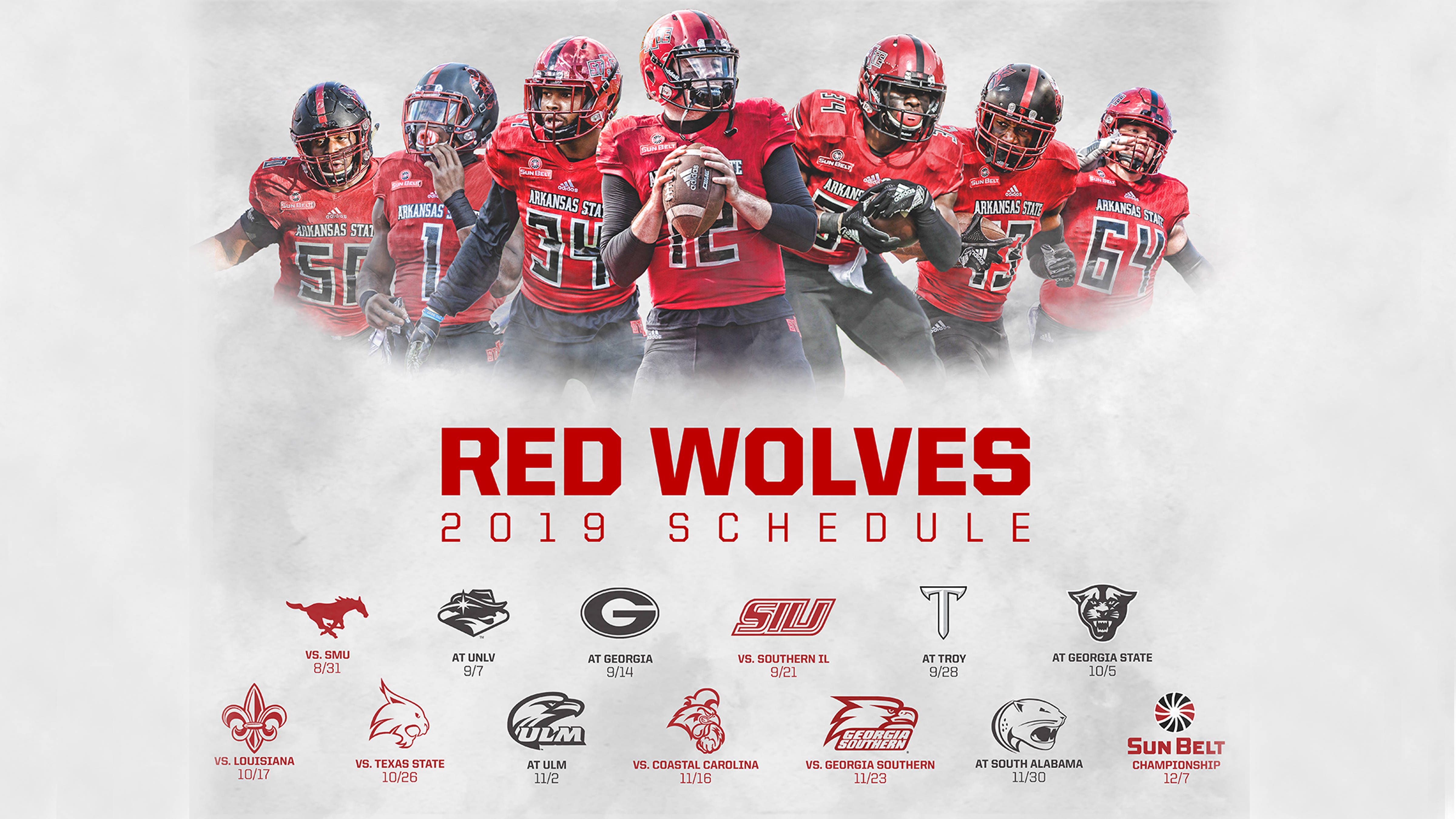 A-State Announces Full 2019 Football Schedule - Arkansas in Arkansas State University Holiday Schedule