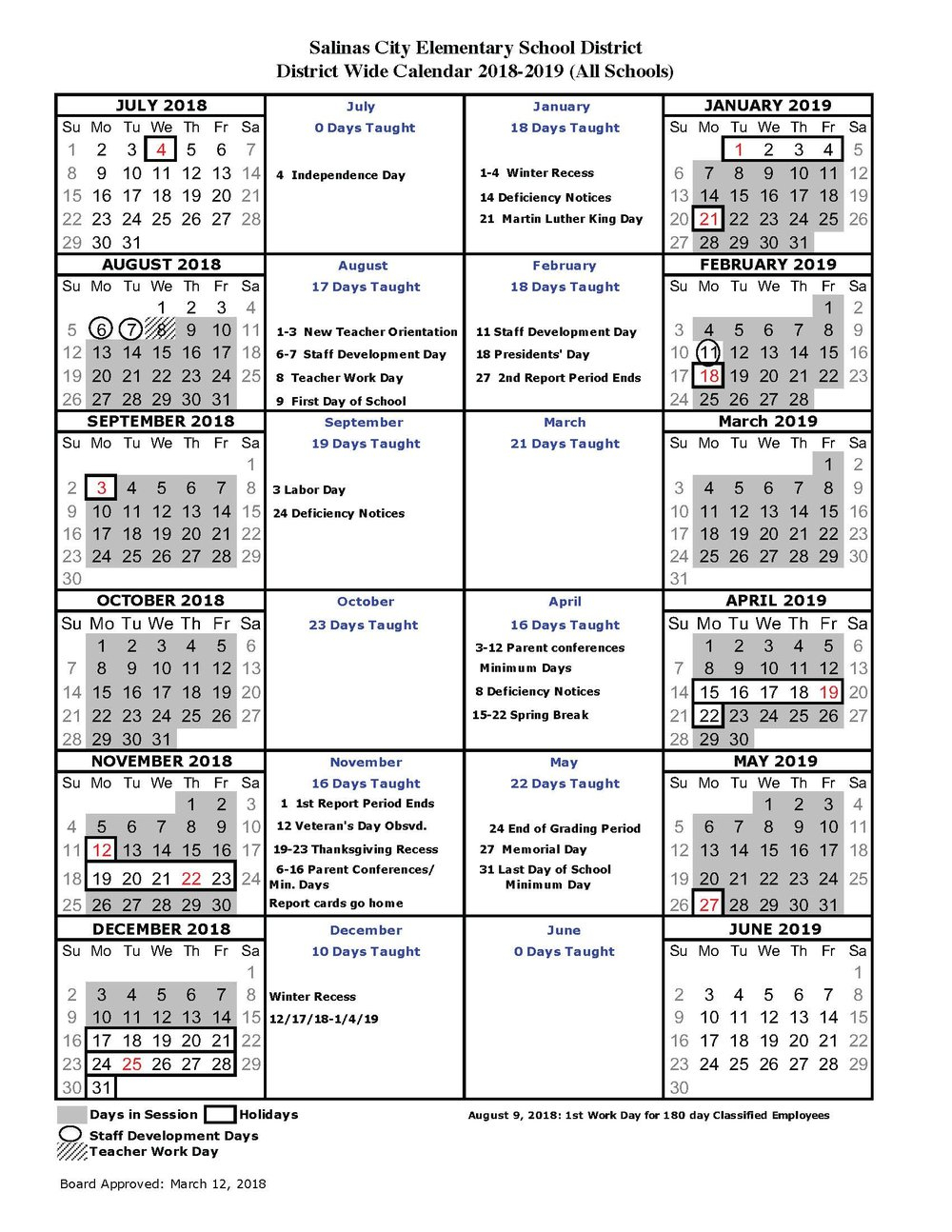 About Us & General District Information — Salinas City Within Monterey County Court Calendar