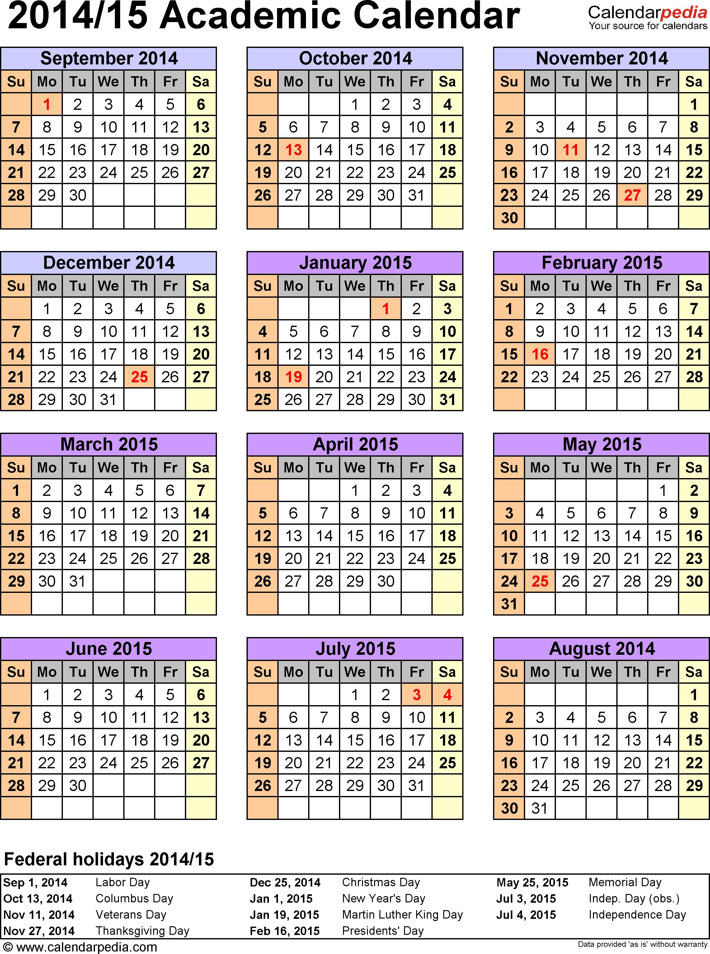 Academic Calendar Cds | Department Of Education In Arizona State University School Calendar 2021