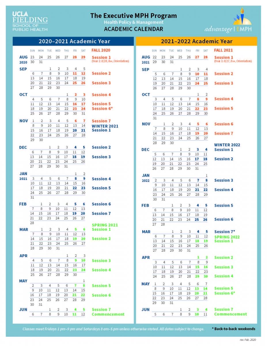 Academic Calendar   Exechpm Regarding Santa Monica College Academic Calendar