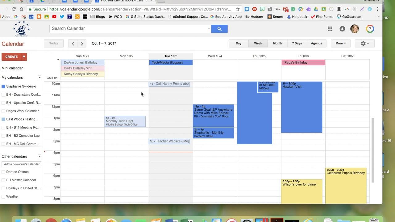 Adding A Note To Google Calendar Event Responses - Youtube pertaining to Google Calender Adding Notes