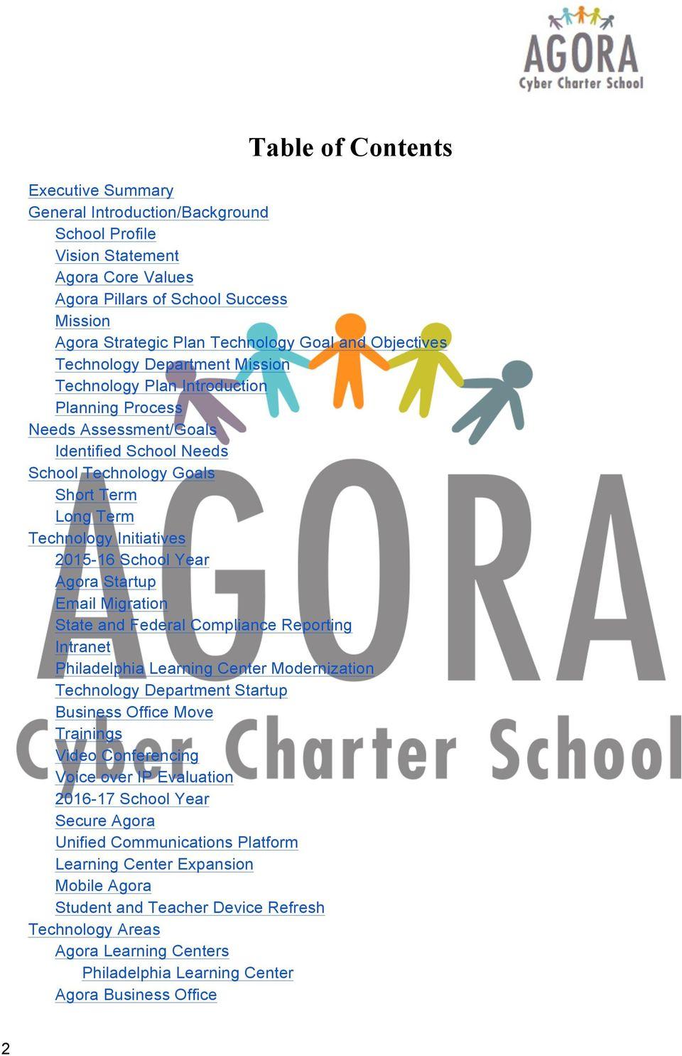 Agora Cyber Charter School Three Year Technology Plan - Pdf Throughout Agora Cyber Charter School Calendar
