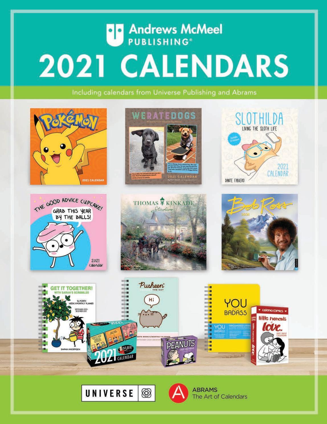 Andrews Mcmeel 2021 Calendar Catalogandrews Mcmeel in Nc Pick 3 2021 Calendar