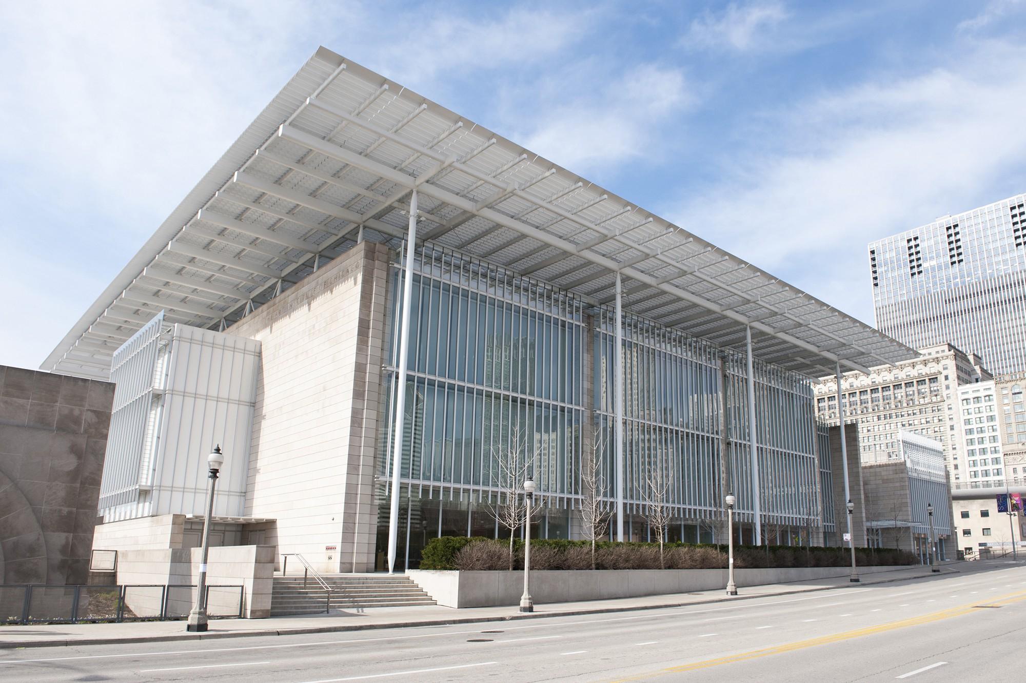 Art Institute Of Chicago · Buildings Of Chicago · Chicago With Art Institue Of Chicago Shop Yearly Calendar