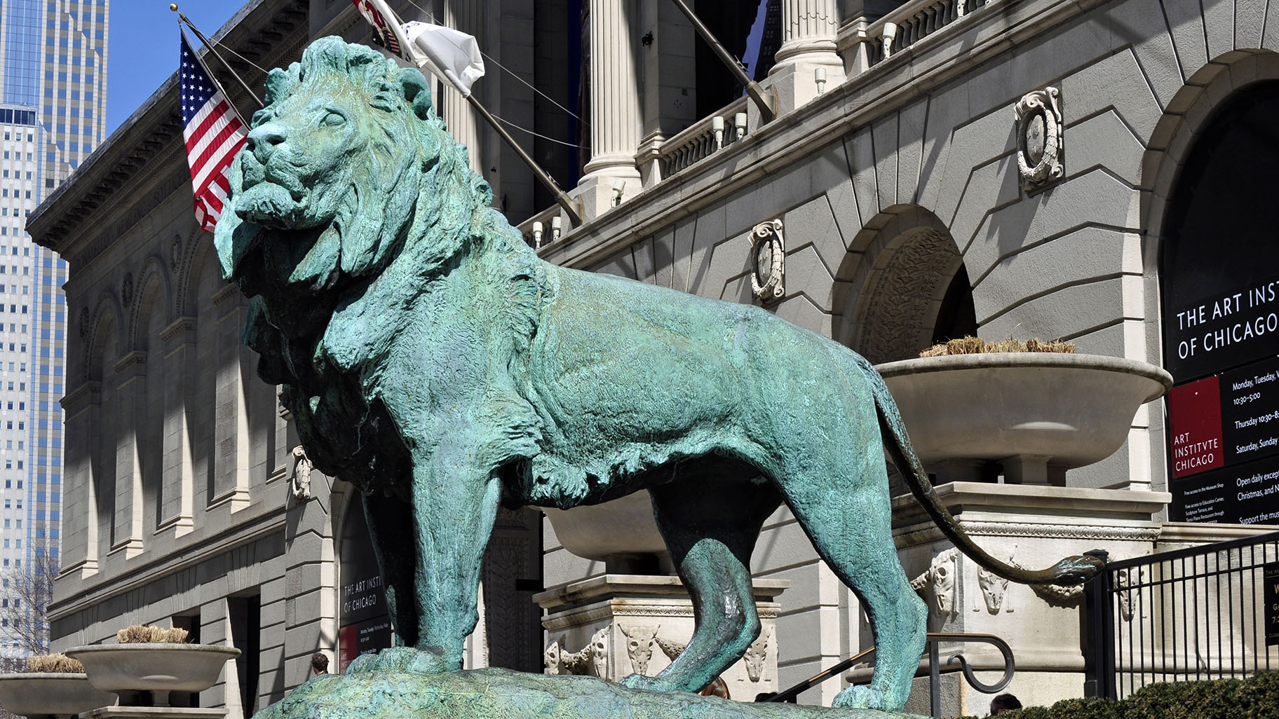 Ask Geoffrey: The History Of The Art Institute Lions Within Art Institue Of Chicago Shop Yearly Calendar