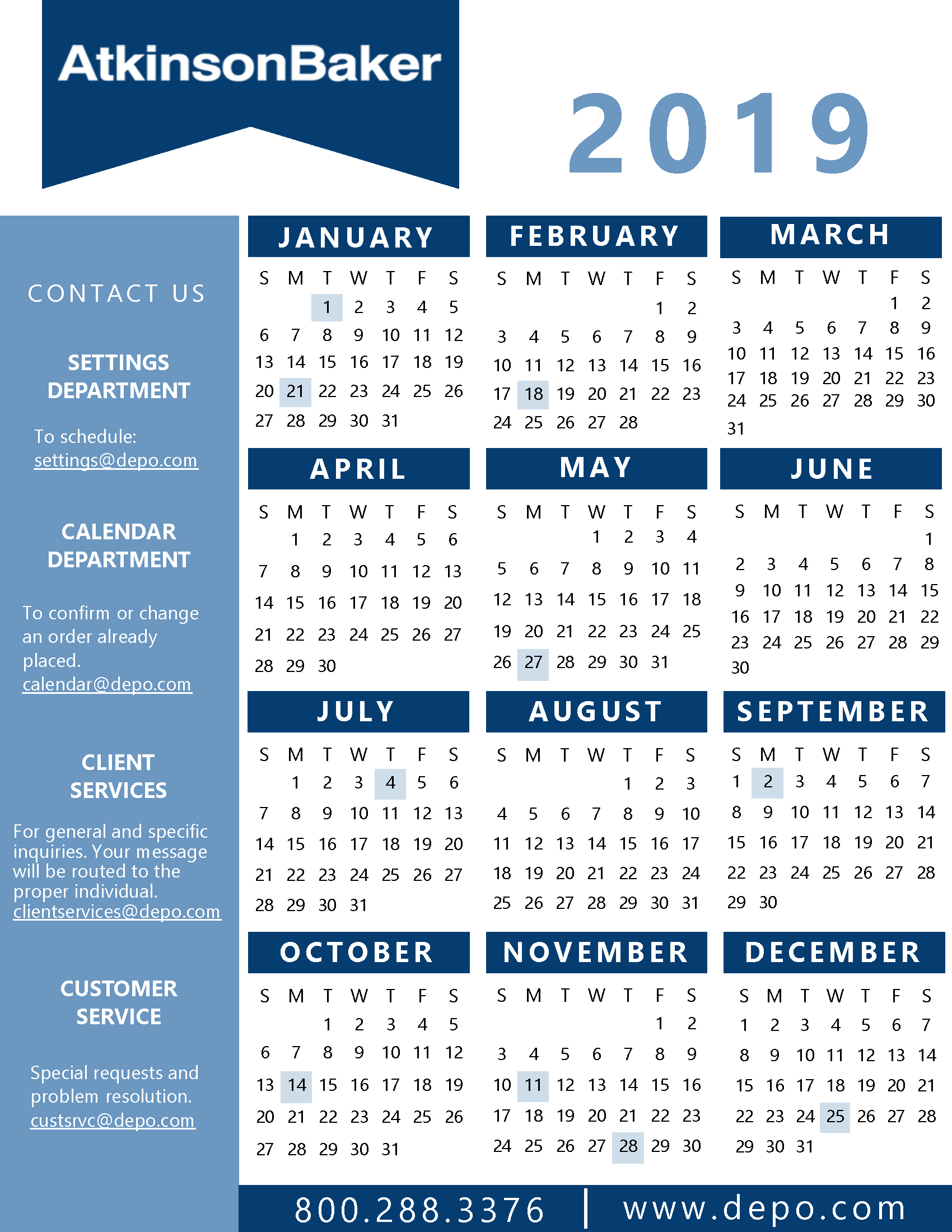 Atkinson-Baker | Calendar And State Holidays intended for Nc Court Federal Court Calendar