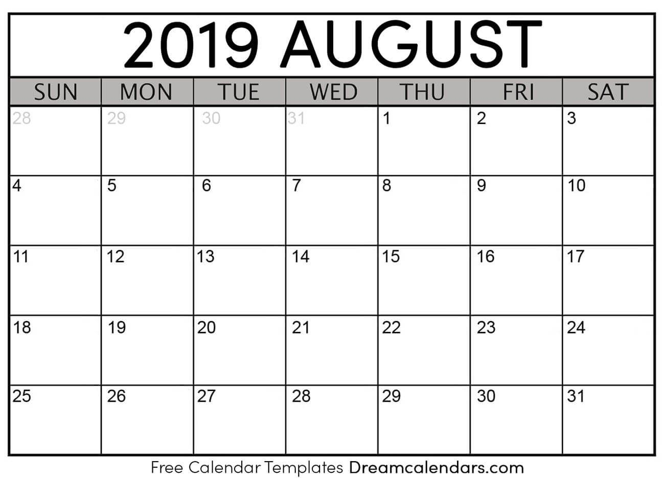 August Is The Third Month Of The Summer And Eighth Month Of With Regard To Calendar Sunset Sunrise Length Printable