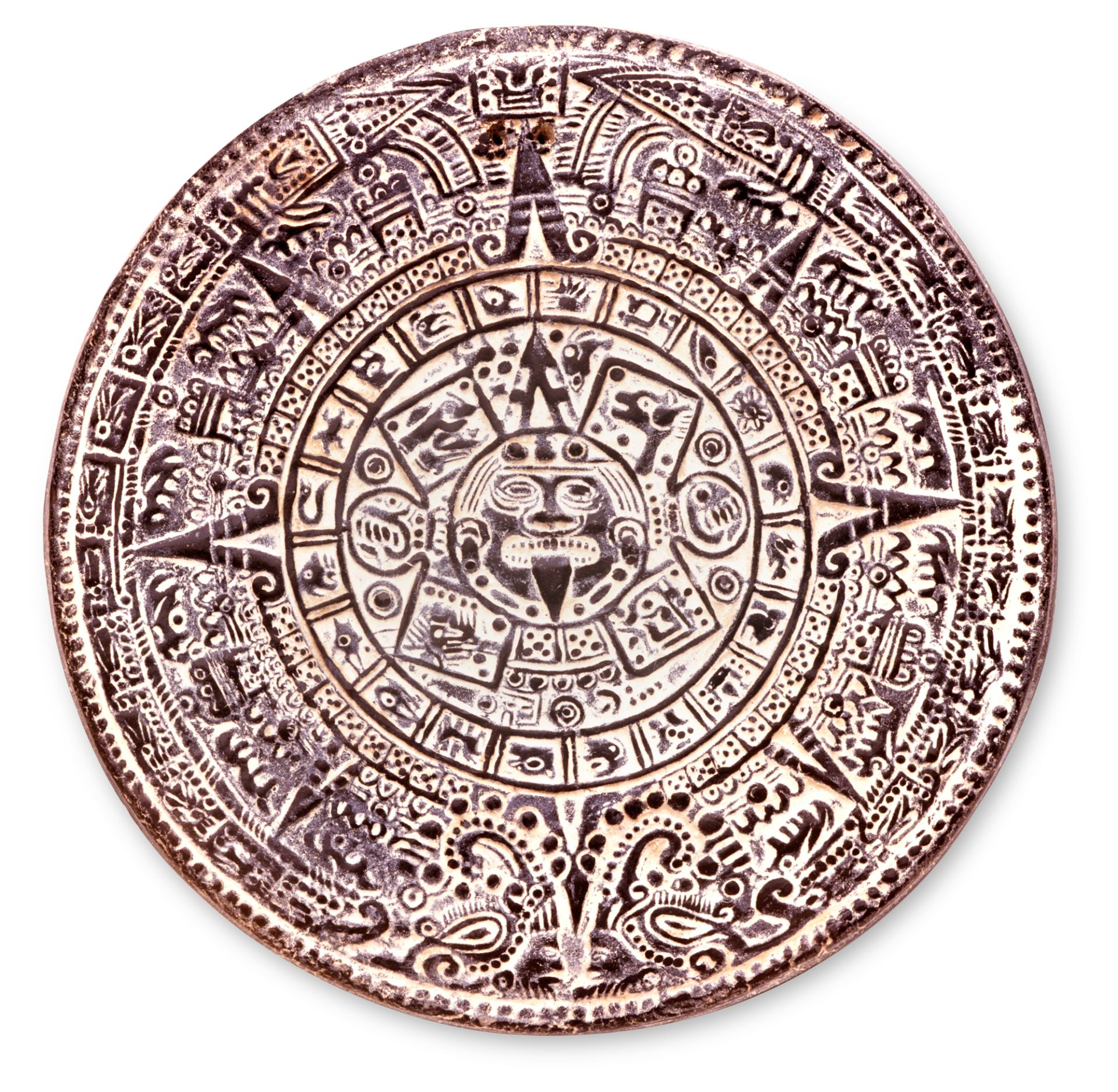 Aztec Calendar Stone   Aztec Calendar Facts   Dk Find Out Intended For How To Read Aztec Calendar