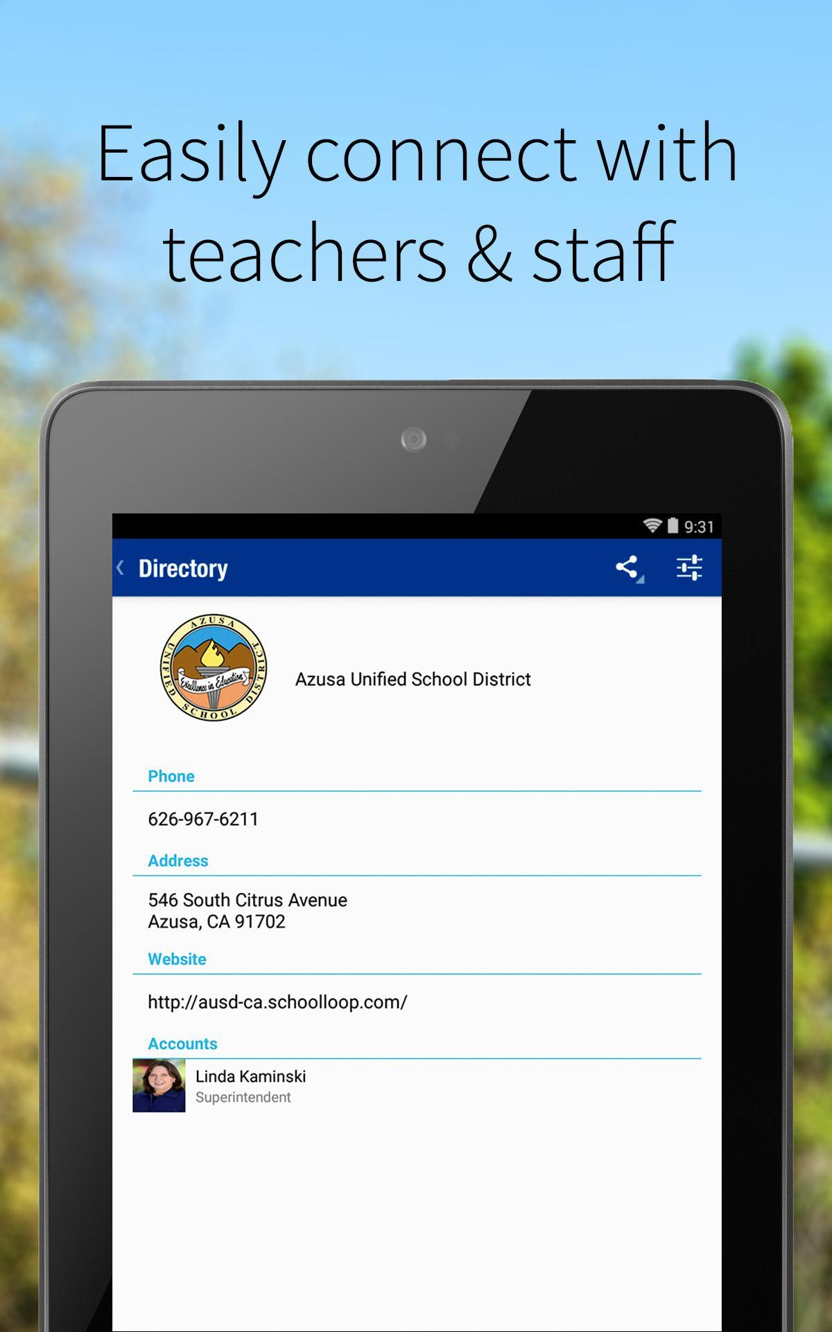 Azusa Unified School District For Android – Apk Download With Regard To Azusa Unified School District Calendar