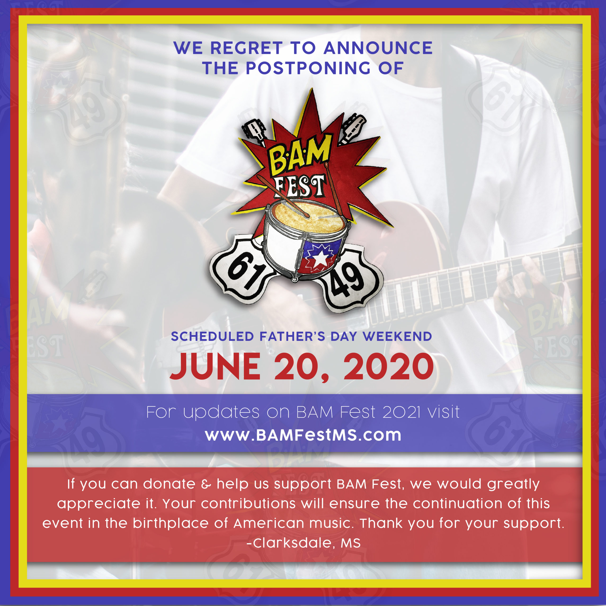 Bam Fest   Birthplace Of American Music Festival Pertaining To Blues Alley Schedule 2021