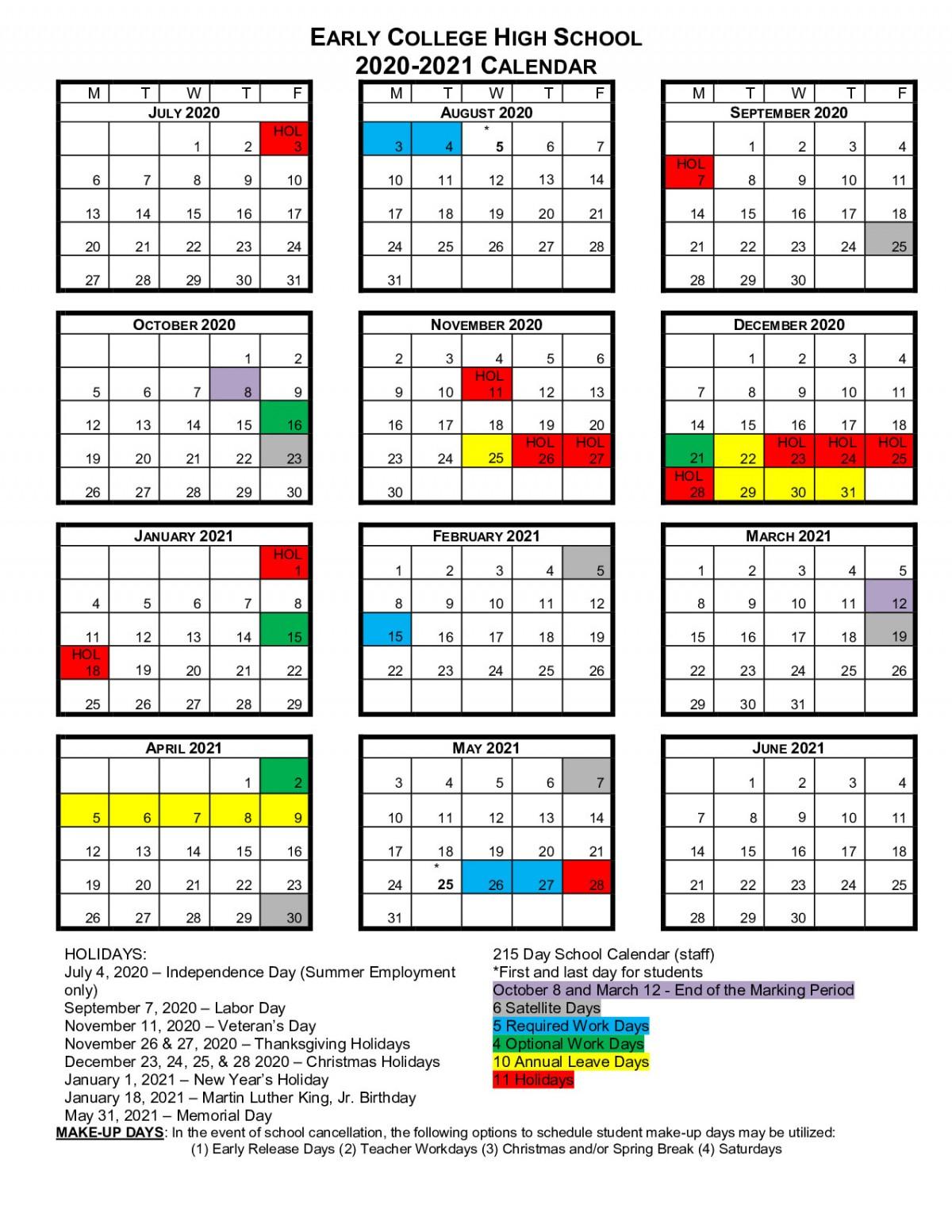 Bcs School Calendars | Beaufort County Schools Pertaining To West Clark School Calendar