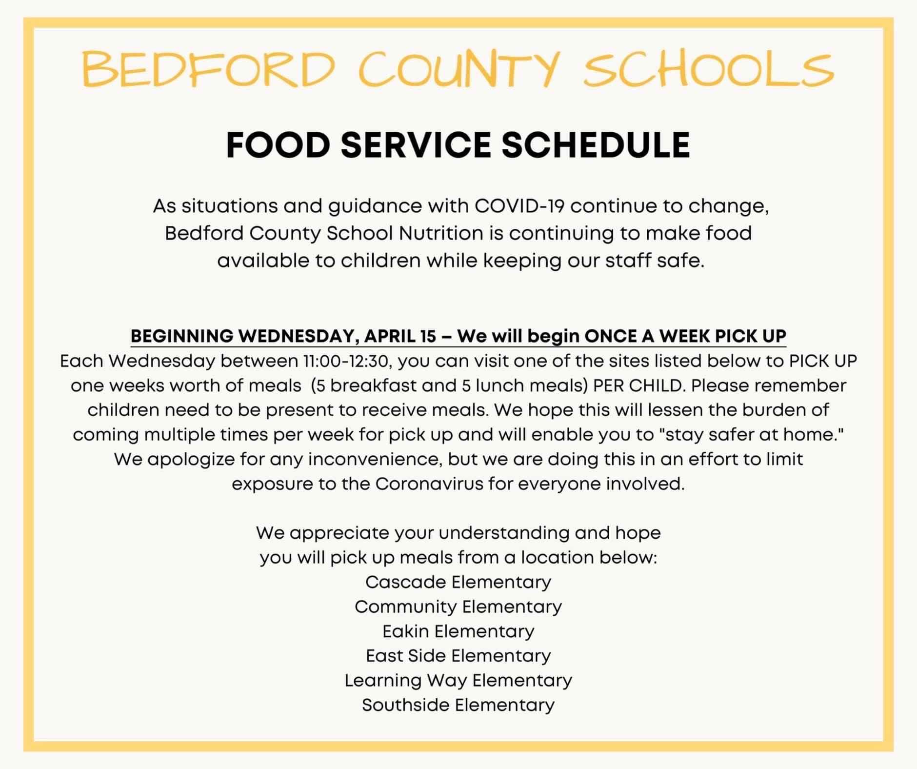 Bedford County School District With Regard To Bedford Central School Calendar