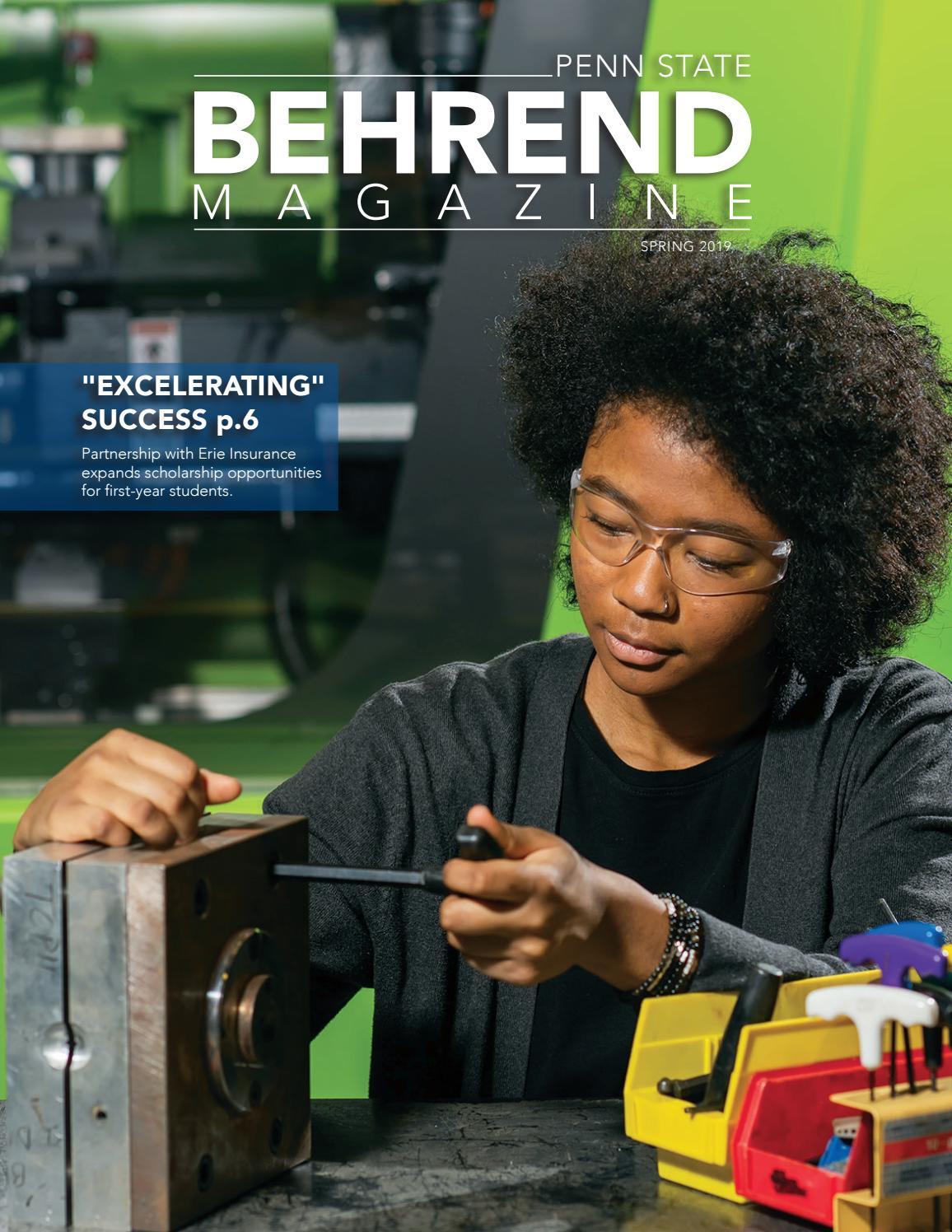 Behrend Magazine – Spring 2019Penn State Behrend – Issuu Throughout Behrend School Calendar