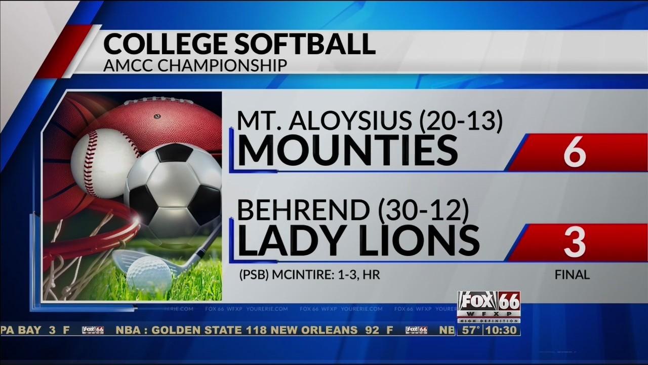 Behrend Softball, Mercyhurst Women's Lacrosse Fall In Intended For Behrend School Calendar