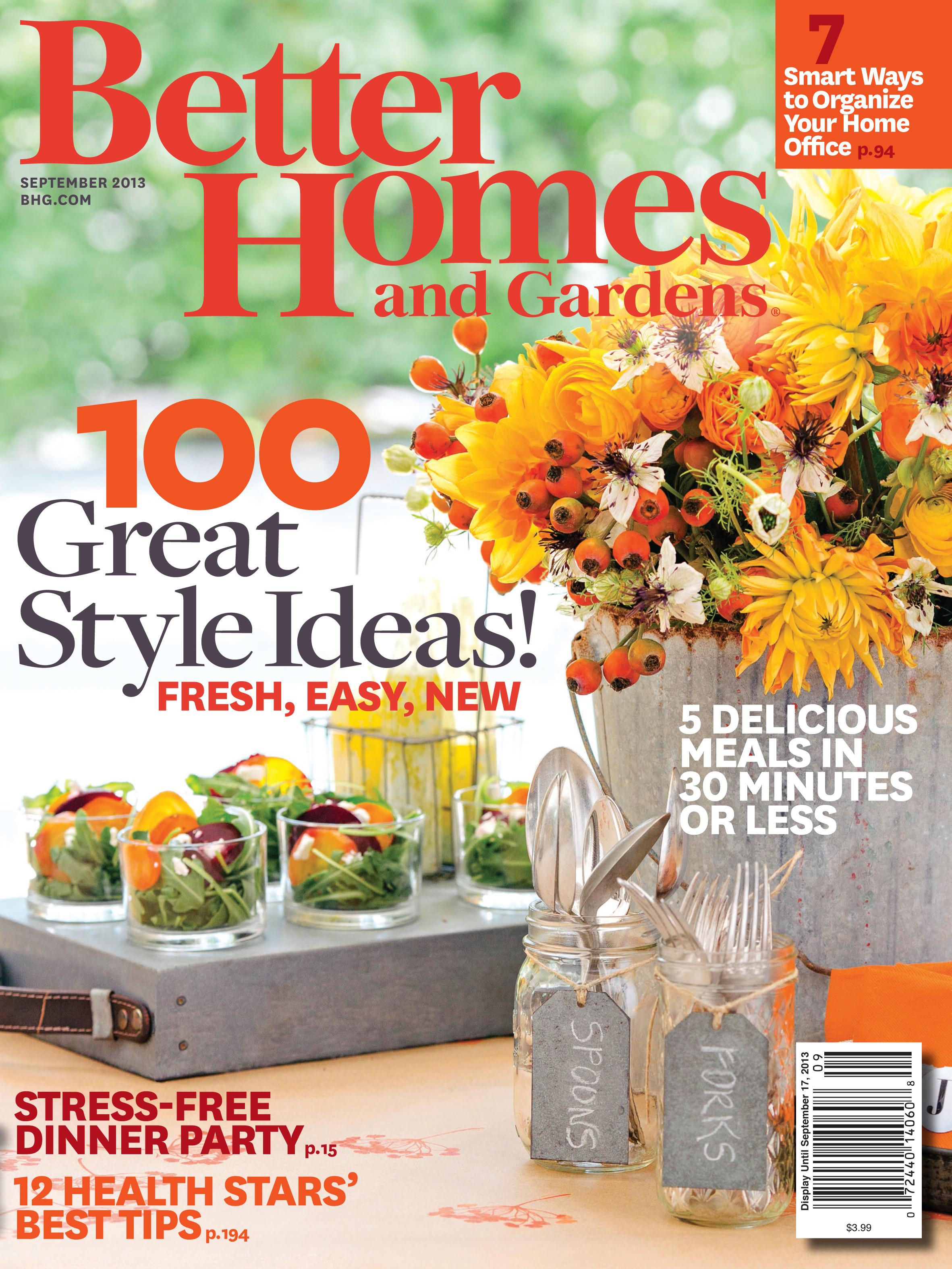 Better Homes And Gardens 2013 - Annette Joseph in Editorial Calendar Better Homes And Gardens