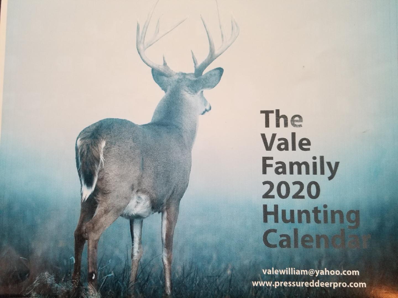 Bill Vales Three Month Deer Hunting Calendar Within Deer & Deer Hunting Whitetail Lunar Calendar