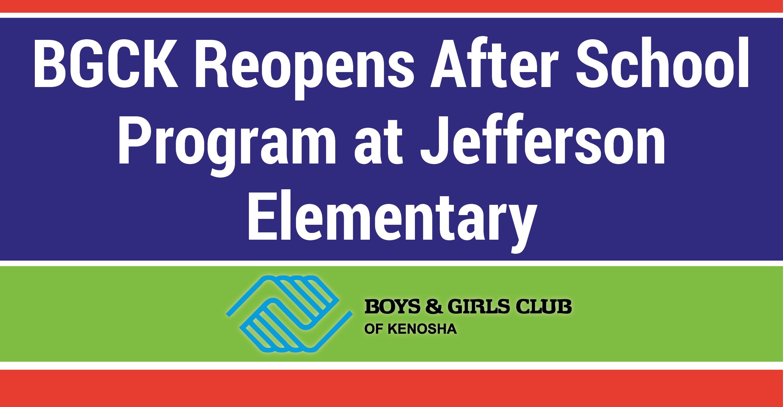 Boys & Girls Club Of Kenosha Reopens After School Program At Intended For Kenosha United School District Calendar