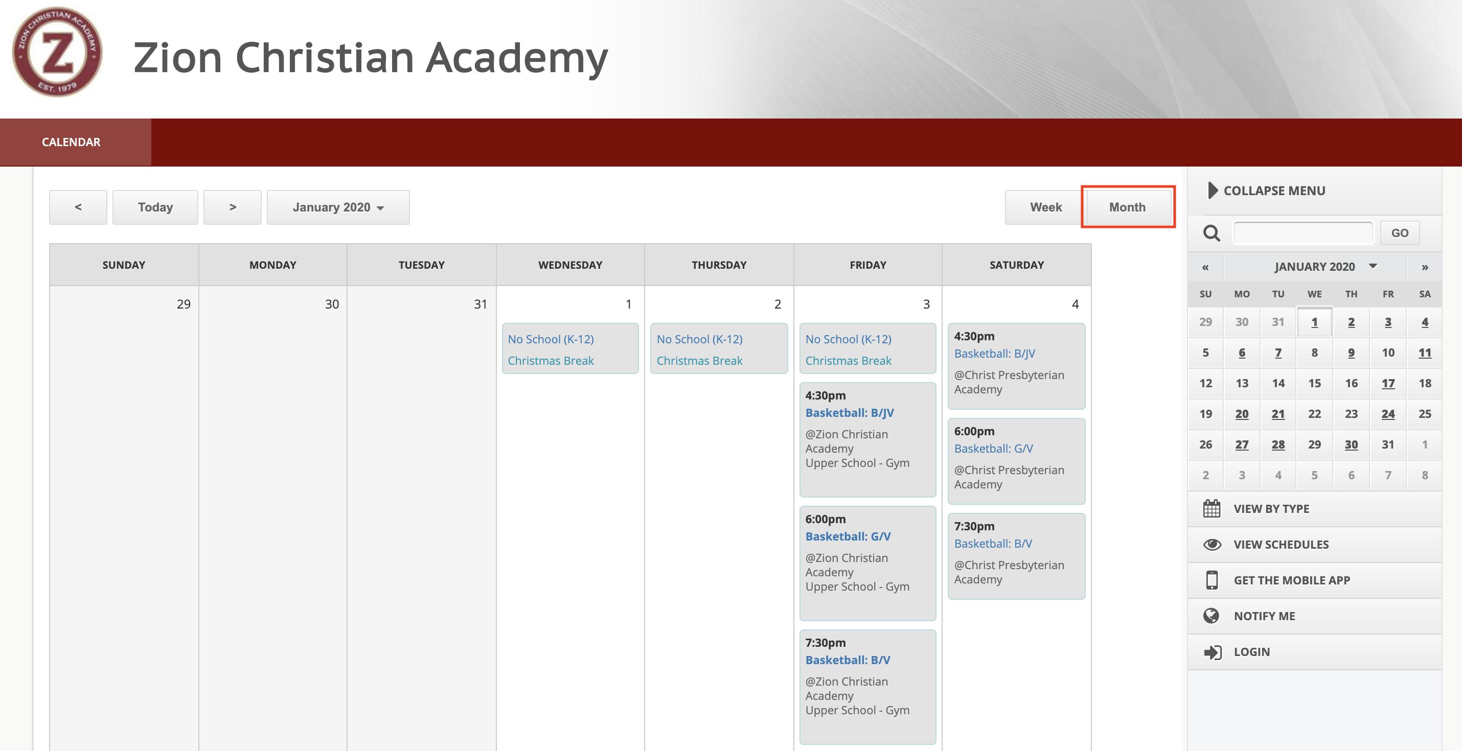 Calendar • Zion Christian Academy Intended For Davidson County Tn School Calendar 2021