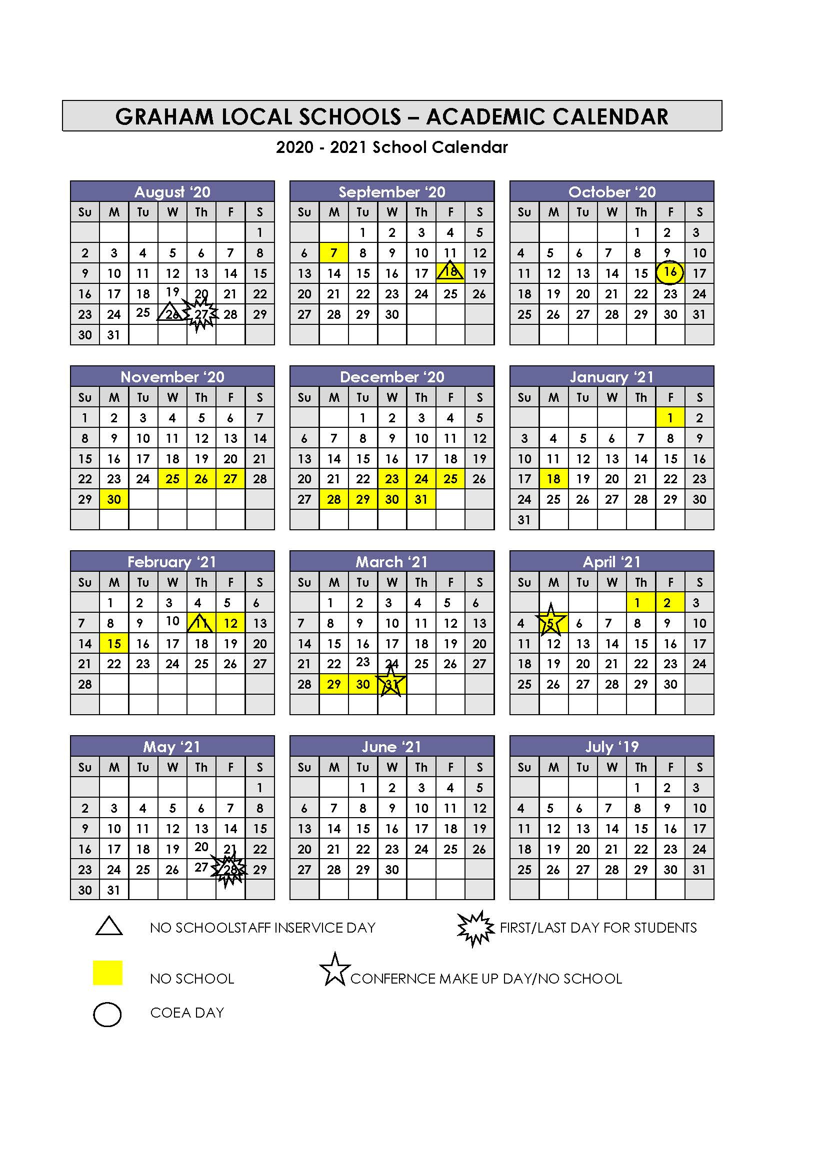 Calendar Intended For University Of Findlay Academic Calendar 2021