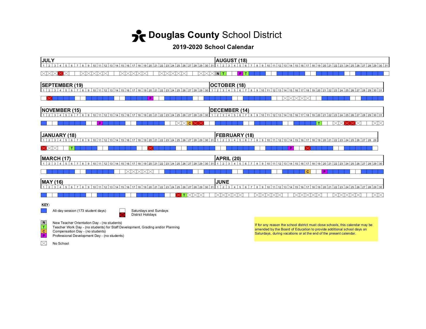 Calendar - Prairie Crossing Elementary Throughout Cherry Hill District Spring Break