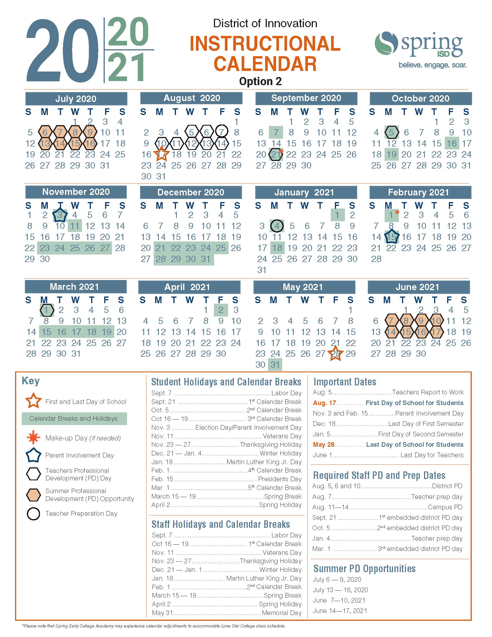 Calendar Survey / 2020 21 Instructional Calendar For Houston Communiry College Calender