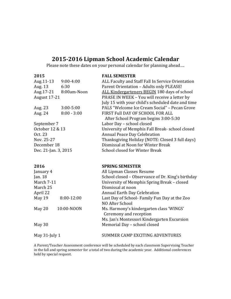 Calendar - University Of Memphis In University Of Memphis School Calendar