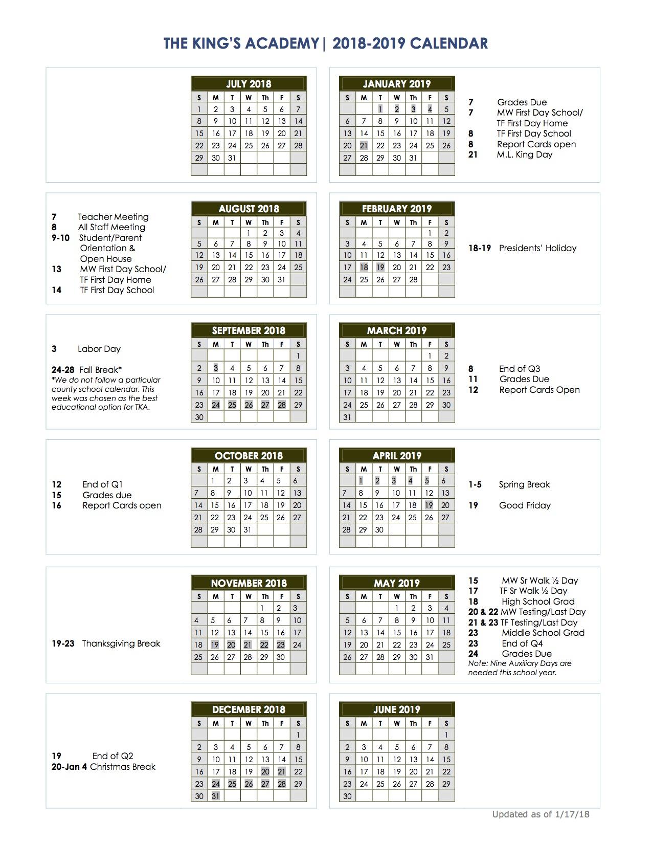 Cherokee County Schools Calendar Sc With West Palm School Calendar