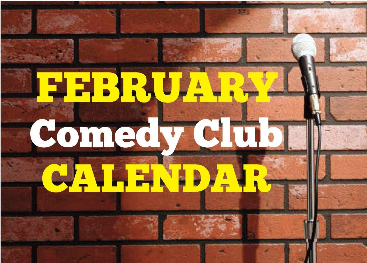 Comedy Club Calendar February 2020 – Happenings Magazine Within Calendar For Naples Florida