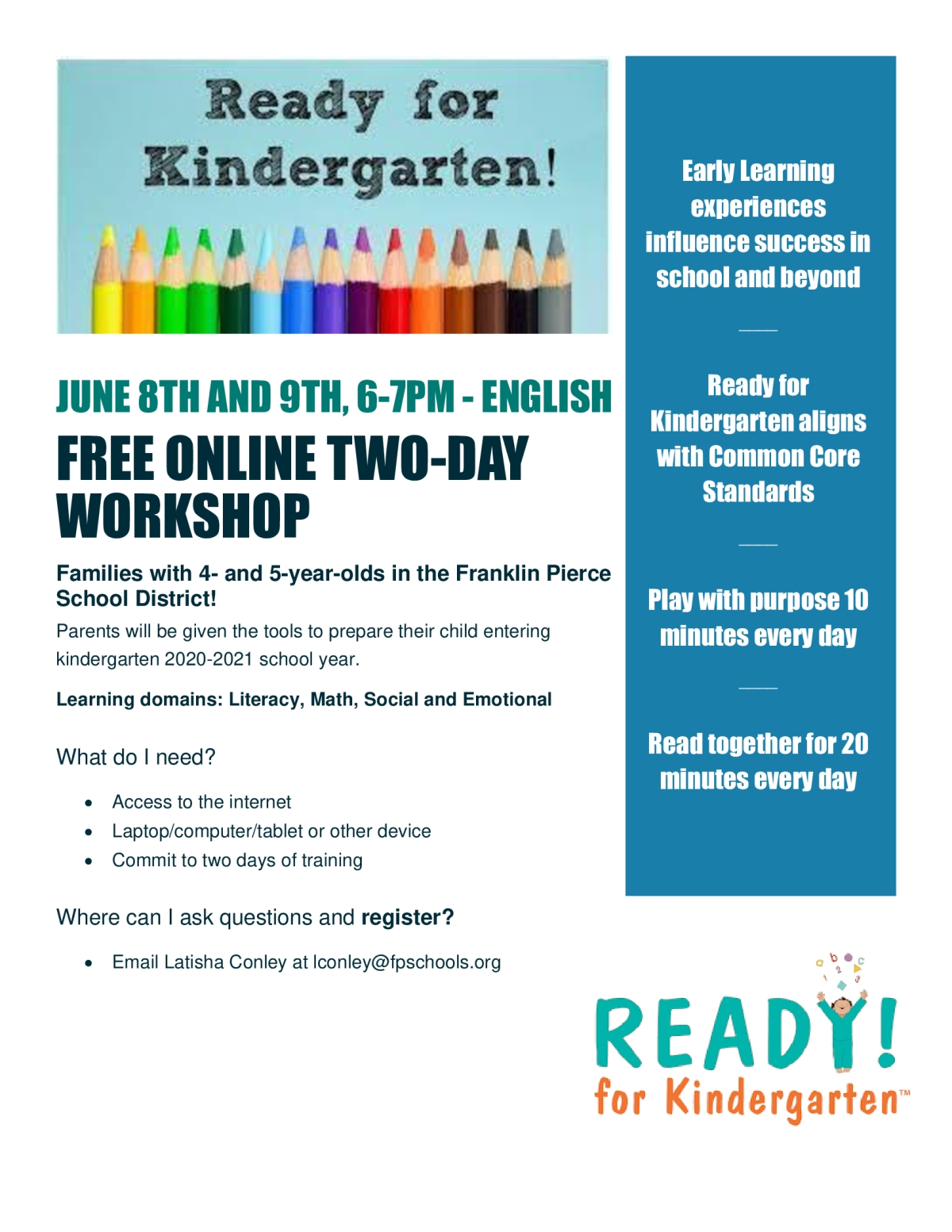 Community Events – Franklin Pierce School District In Franklin Pierce School District Calendar