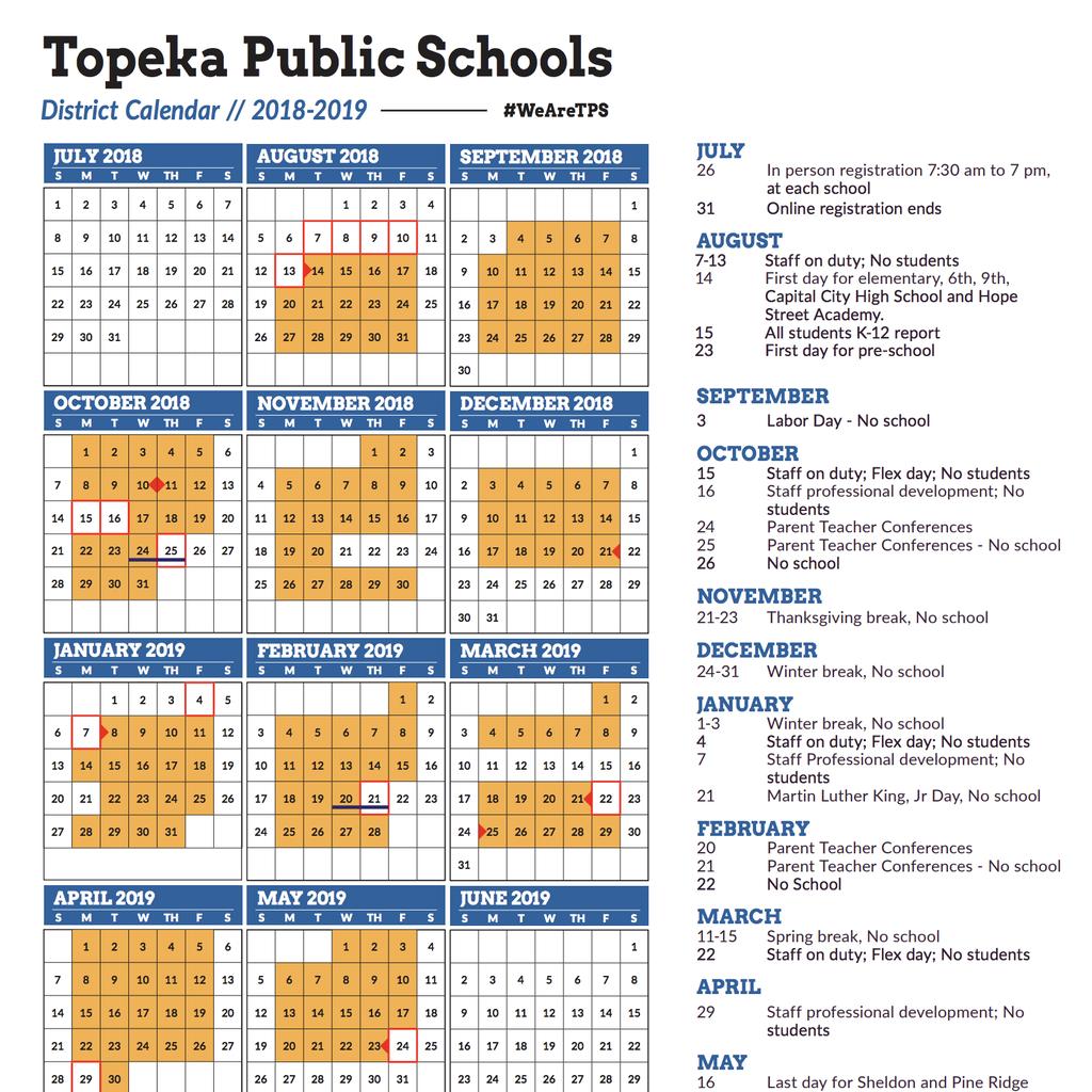 Community News 6-14-18 inside Topeka West High School Calendar