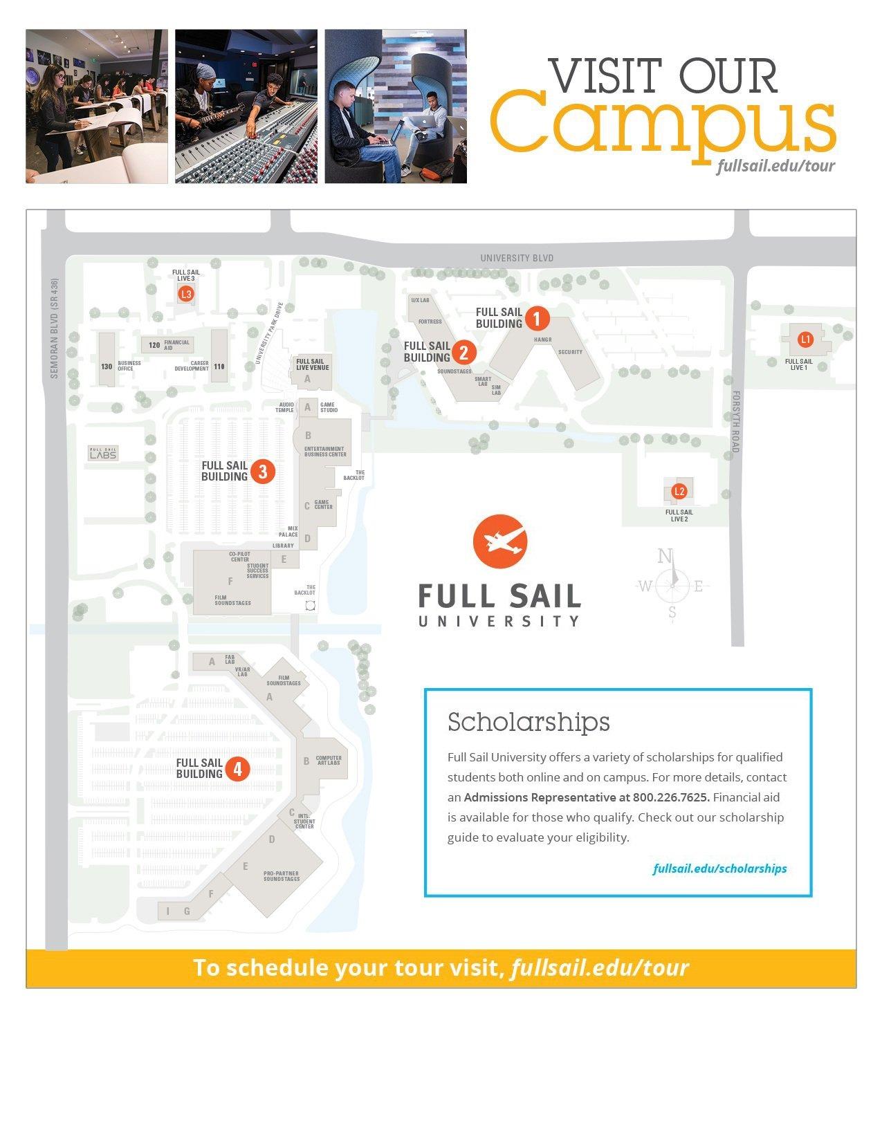 Contact Regarding Full Sail University Class Schedule