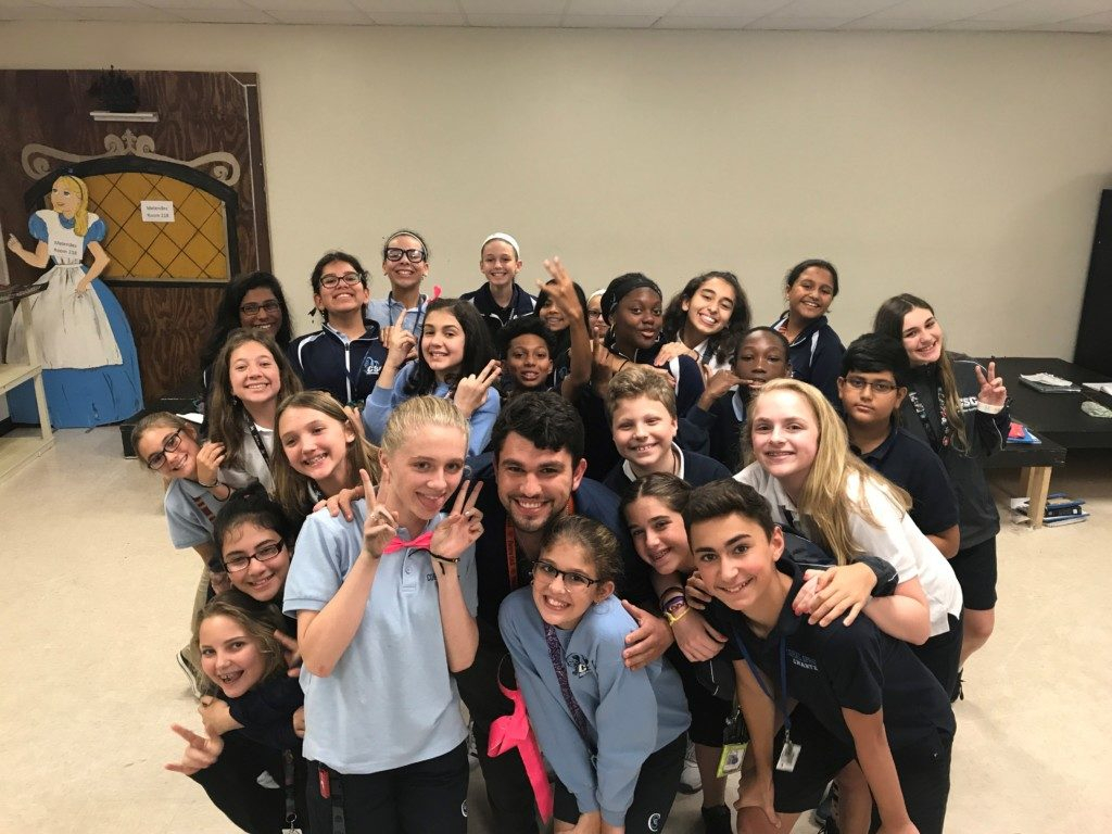 Coral Springs Charter School Alum Teaches Life Lessons At intended for School Schedule For Springs Charter School This Week