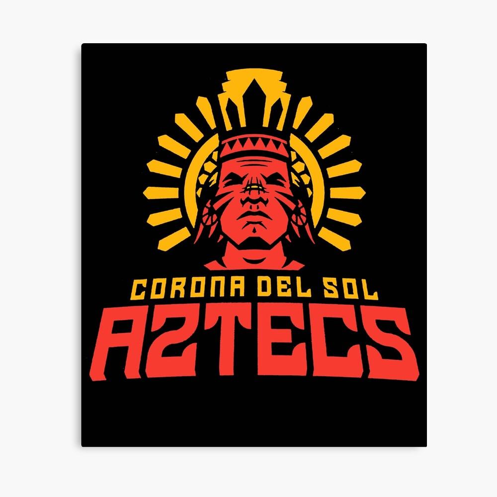 "Corona Del Sol A2Tecs"" Canvas Printsteelo2018 | Redbubble within Corona Del Sol Calendar"