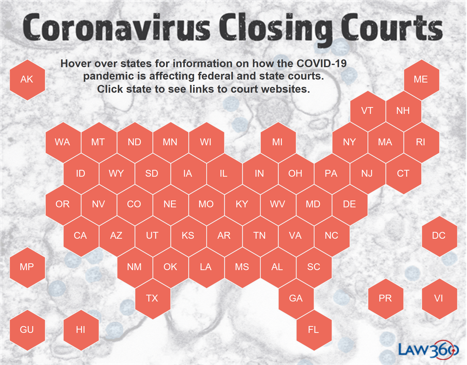 Coronavirus: The Latest Court Closures And Restrictions - Law360 Intended For Nc Court Calendar District & Superior Court