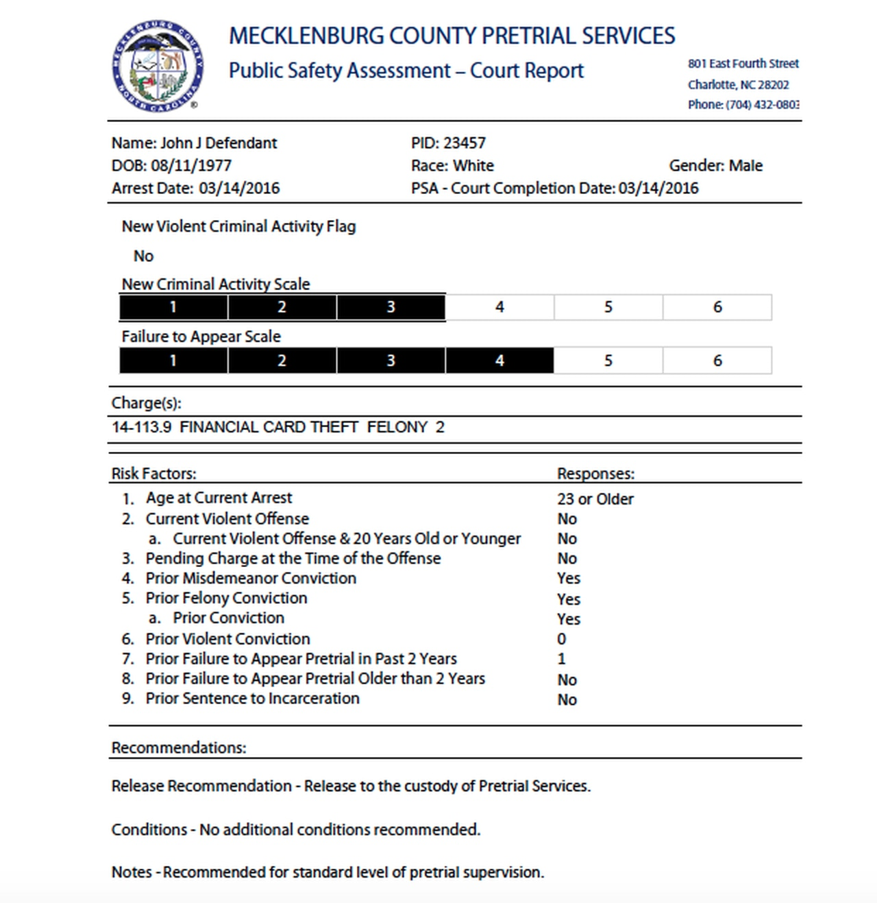 Could A Crime Predicting Tool Make Bail Fair In Cuyahoga With Find My Nc Court Date Query By Defendant Name