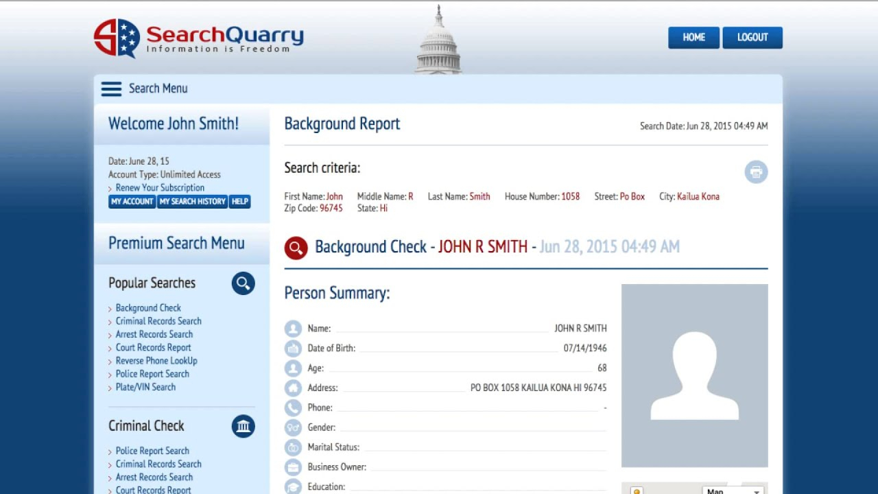 Court Records Lookup – Searchquarry Throughout North Carolina Court Calendar Search By Name