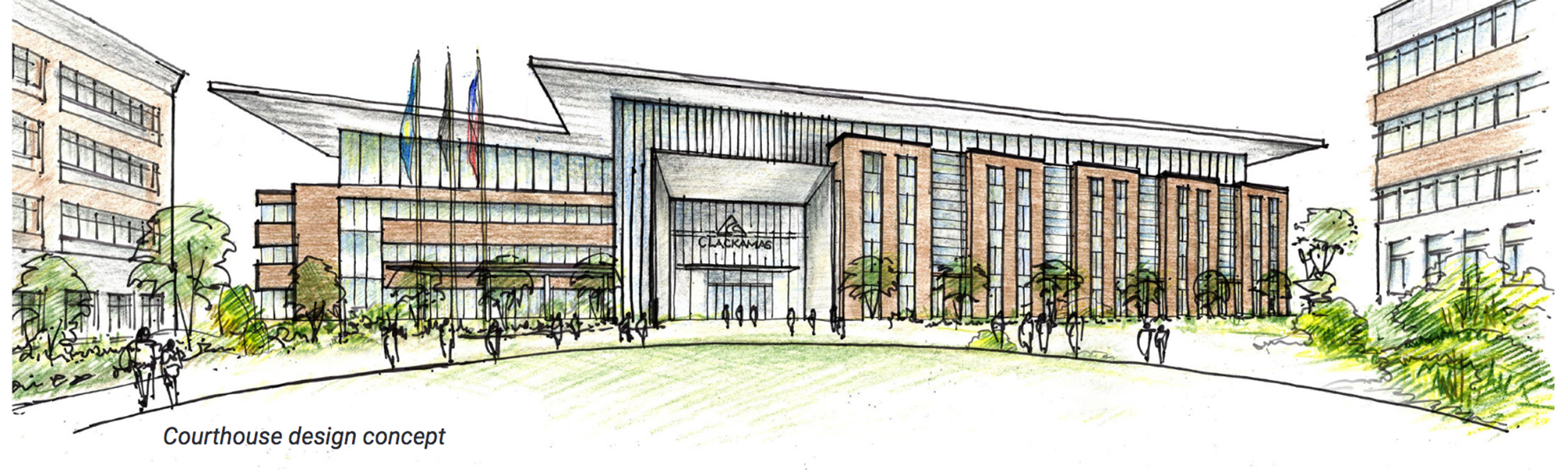 Courthouse Replacement Project | Clackamas County within Clackamas County Courthouse Schedule